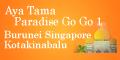 2001年ブルネイ・コタキナバル・シンガポール旅行記